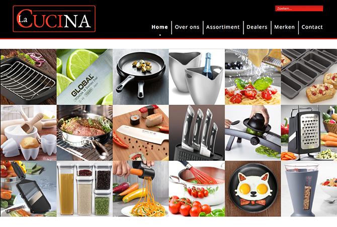 La Cucina Import B.V. is importeur van hoogwaardig kook- en keukengerei voor de Benelux. Sinds de start in 1988 heeft La Cucina Import zich, naar volle tevredenheid van haar afnemers, gespecialiseerd in de verkoop van hoogwaardige, onderscheidende merken van over de hele wereld.