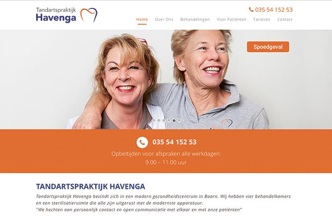 Tandartspraktijk Havenga bevindt zich in een modern gezondheidscentrum in Baarn. Wij hebben vier behandelkamers en een sterilisatieruimte die allen zijn uitgerust met de modernste apparatuur. ''We hechten aan persoonlijk contact en open communicatie met elkaar en met onze patiënten''